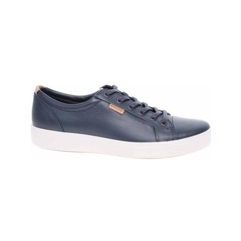Ecco Pánská obuv Soft 7 M 43000451056 marine-powder Modrá