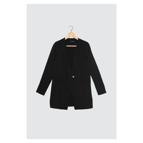Trendyol Black Single Button Jacket