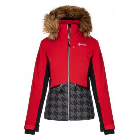 KILPI Dámská lyžařská bunda TESSA-W LL0042KIRED Červená