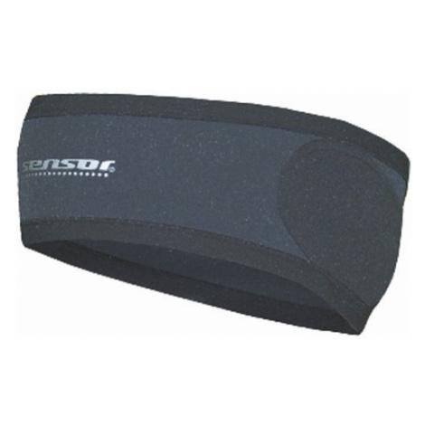 Sensor Wind Barier Headband čelenka black