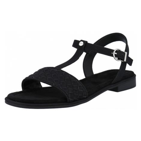 ESPRIT Páskové sandály 'Moa' černá