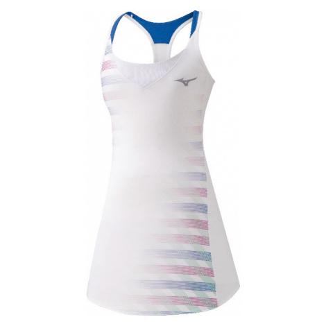 Šaty Mizuno Printed Dress bílé
