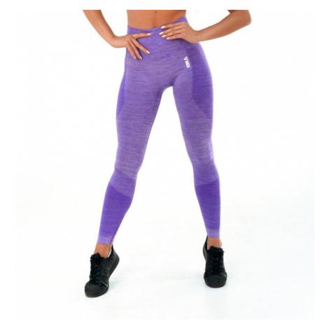 Dámské Legíny Boco Wear Violet Melange Push Up Fialová