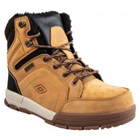 Umbro SYNERGY hnědá - Pánská zimní obuv