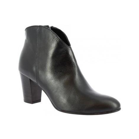 Leonardo Shoes Z163 AMERICA NERO Černá