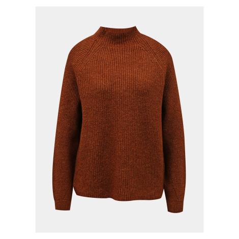 Only hnědý dámský svetr