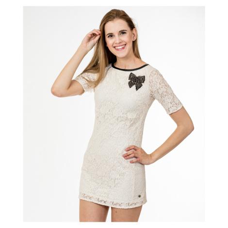 Smetanové šaty - REPLAY