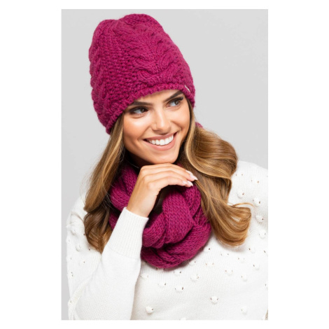 Kamea Woman's Snood K.19.834.30 Fuchsia