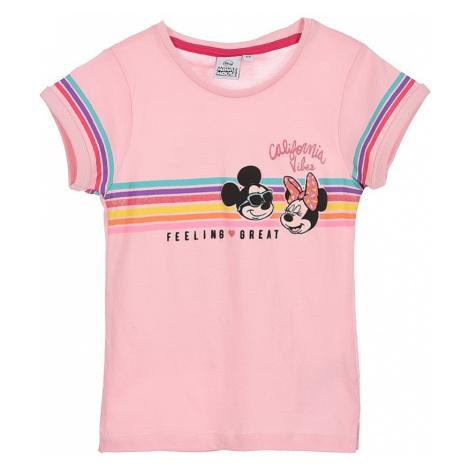 Disney minnie mouse dívčí růžové tričko