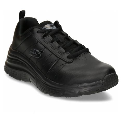 Černé dámské tenisky Skechers