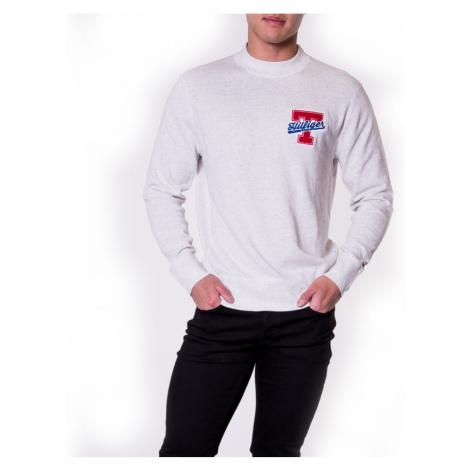 Tommy Hilfiger pánský krémový svetr