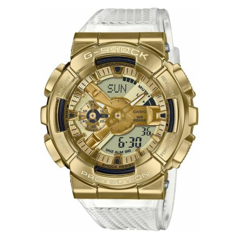 "Casio G-Shock GM 110SG-9AER ""Skeleton Gold Series"" zlaté / průhledné"