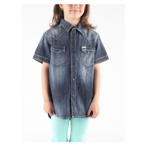 Košile Diesel Clori Camicia Modrá