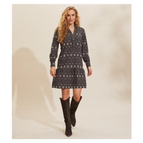 Šaty Odd Molly Célia Dress - Černá