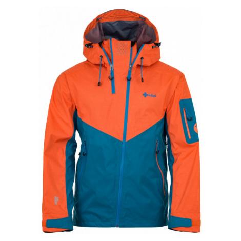 KILPI Pánská třívrstvá lyžařská bunda METRIX-M HM0020KIBLU Modrá
