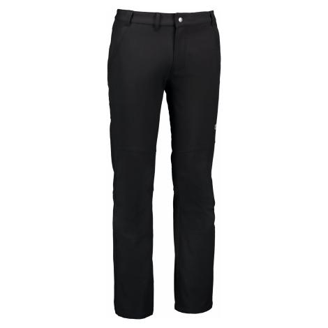 Nordblanc Bridge pánské softshellové kalhoty černé