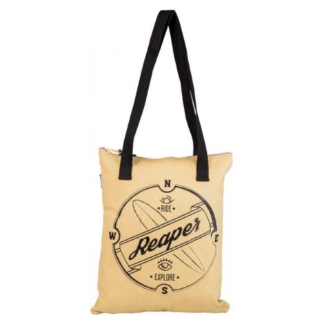 Reaper BEACHBAG béžová - Plážová taška