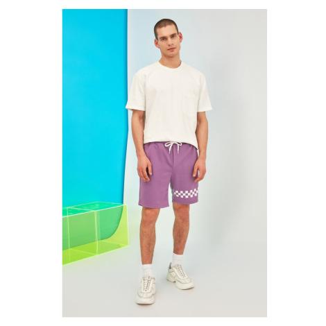 Trendyol Lila Men's Regular Fit Shorts & Bermuda