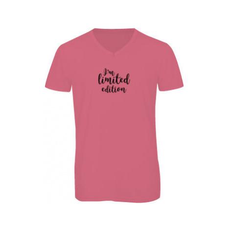 Pánské triko s výstřihem do V I'm limited edition