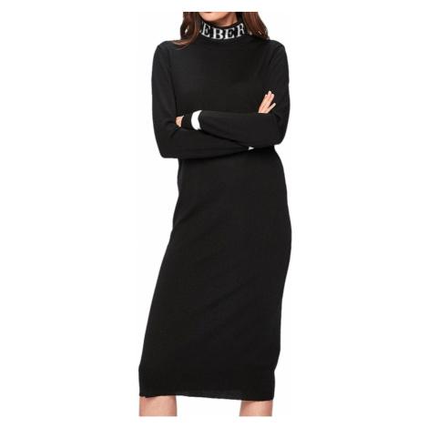 Černé vlněné šaty - ICEBERG