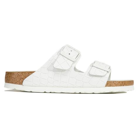 Pantofle Birkenstock ARIZONA BS bílá