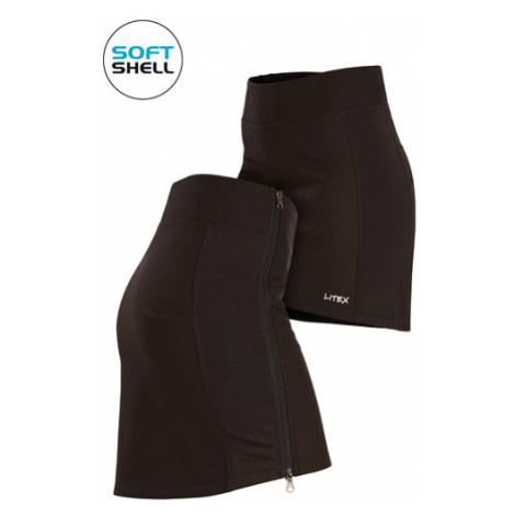 Dámská sukně sportovní Litex 7A209 softshellová | černá