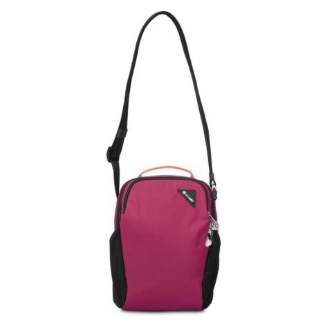 Pacsafe Vibe 200 dark berry taška přes rameno