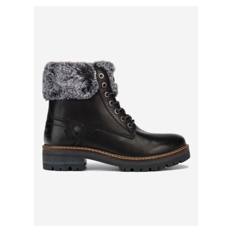 Denver Alaska Kotníková obuv Wrangler Černá