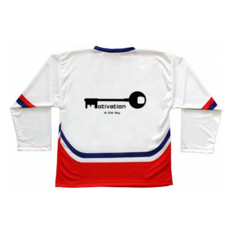 Hokejový dres ČR Motivation is the key