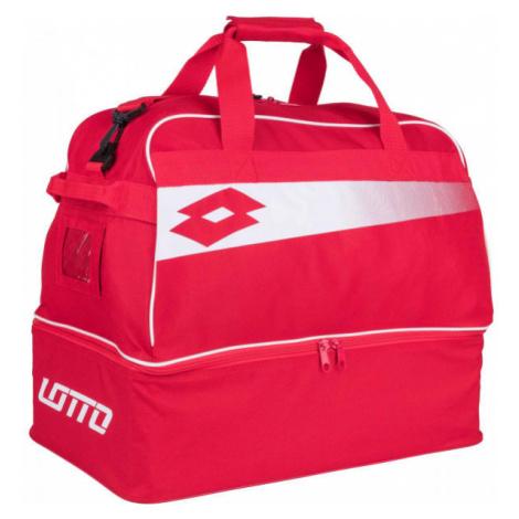 Lotto BAG SOCCER OMEGA JR II červená - Juniorská sportovní taška