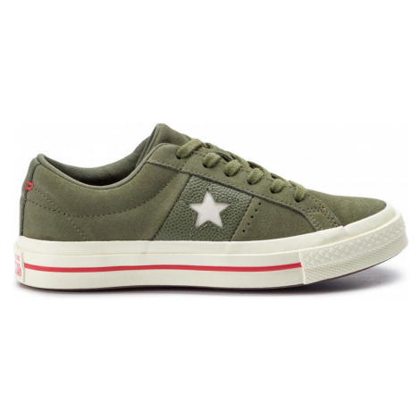 Converse One Star OX zelené 163198C
