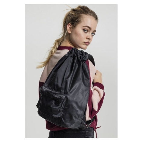 Pocket Gym Bag - black Urban Classics