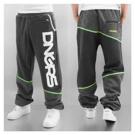 Tepláky Dangerous DNGRS / Sweat Pant Crosshair in grey