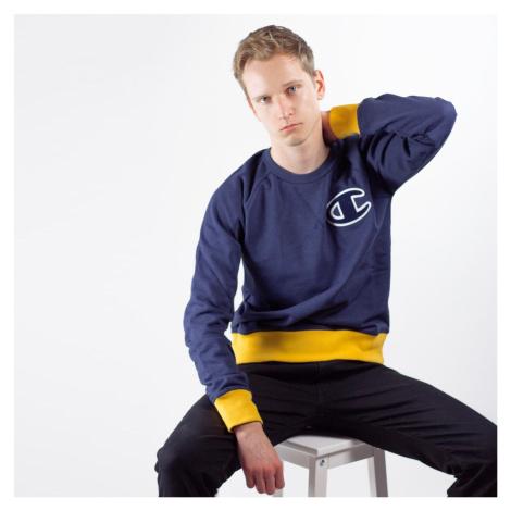 Tmavě modrá mikina Rochester Crewneck Sweatshirt Champion