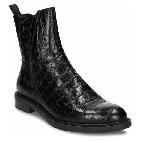 Černá kožená dámská Chelsea obuv Vagabond