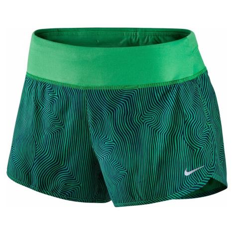 """Dámské šortky Nike ZEN 3"""" RIVAL Zelená"""
