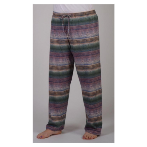 Dámské pyžamové kalhoty Vienetta Secret Olga | mocca