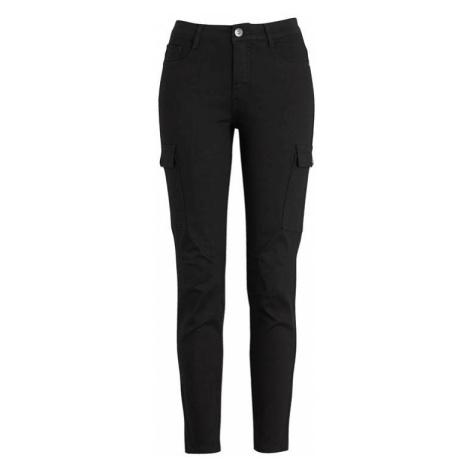Keprové kalhoty s kapsami na nohavicích Cellbes
