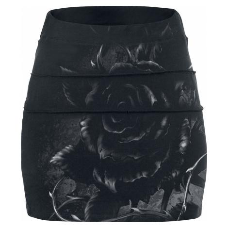 Alchemy England Roses Nest Mini sukně černá