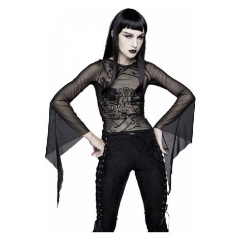 tričko dámské s dlouhým rukávem DEVIL FASHION - TT124