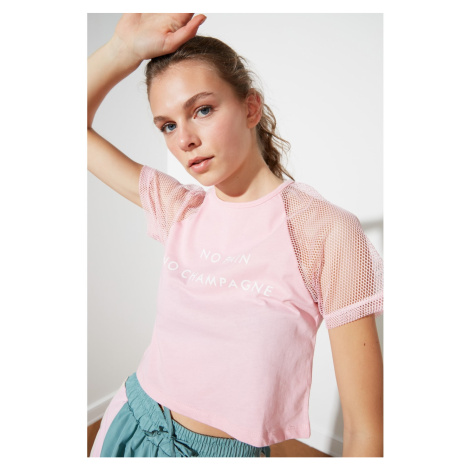 Dámské tričko Trendyol Print detailed