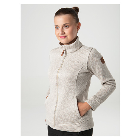 Loap Gavril dámský sportovní svetr hnědý žíhaný