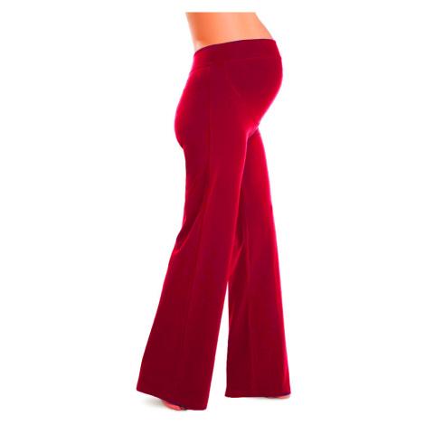 LITEX 99412 Těhotenské kalhoty (legíny) Litex červená