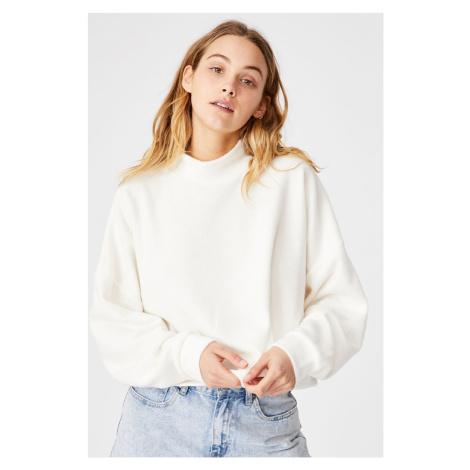 Dámská béžová mikina Brina Oversized Cotton On