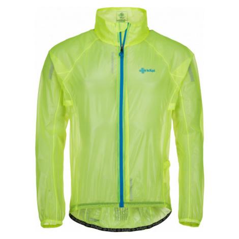 Pánská outdoorová bunda KILPI Rainar-m žlutá
