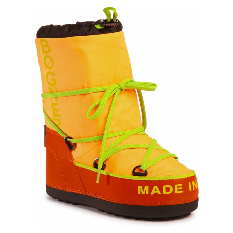 Sněhule BOGNER - New Tignes 17 303-2164 Neon Orange Gom 37
