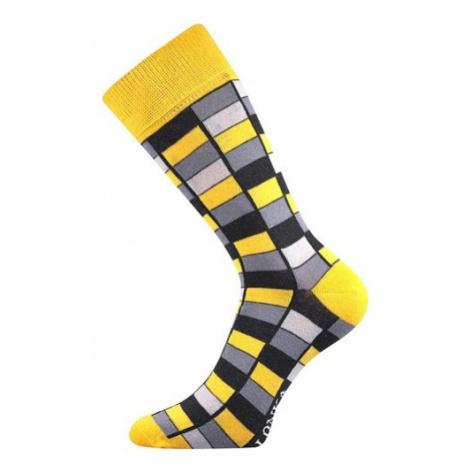 Voxx Ponožky sportovní LONKA Woodoo, žlutá