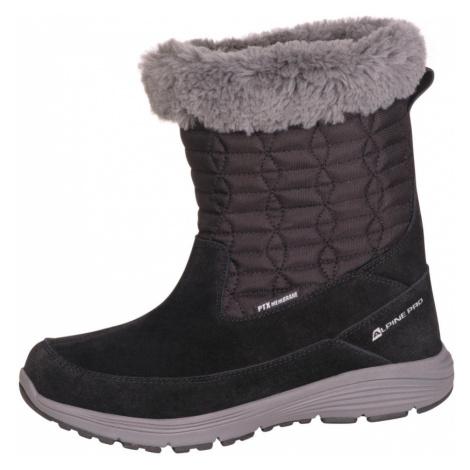 ALPINE PRO PORTIA Dámská zimní obuv LBTM184990 černá