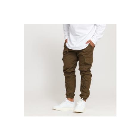Urban Classics Cargo Jogging Pants hnědé
