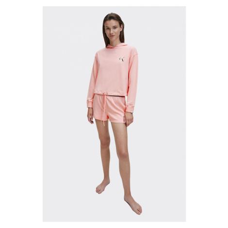 Calvin Klein CK ONE mikina dámská - růžová